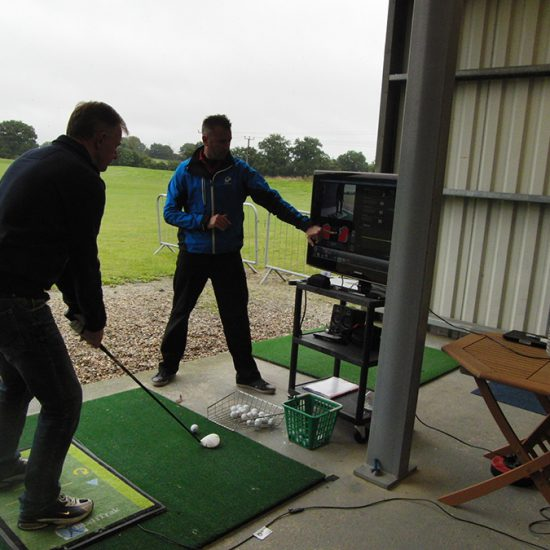 Professional golf coaching
